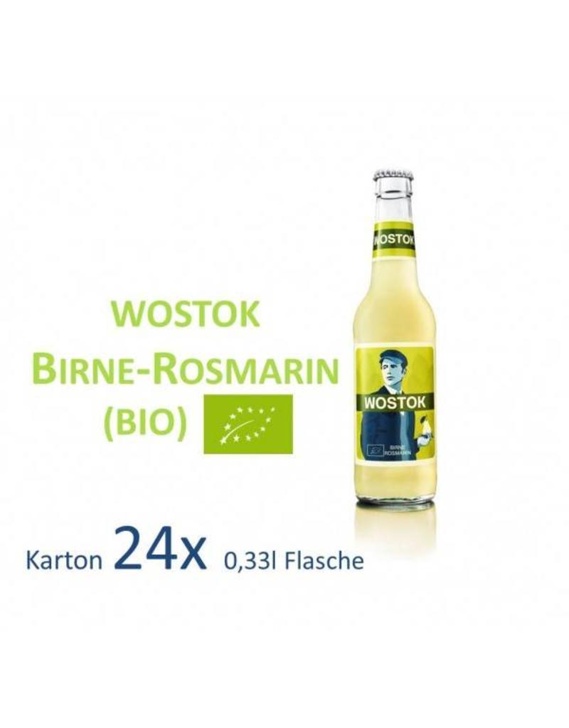Wostok Wostok Birne - Rosmarin 24 x 330ml