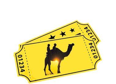 E-tickets voor kamelensafari's
