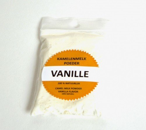Try-out sample camel milkpowder