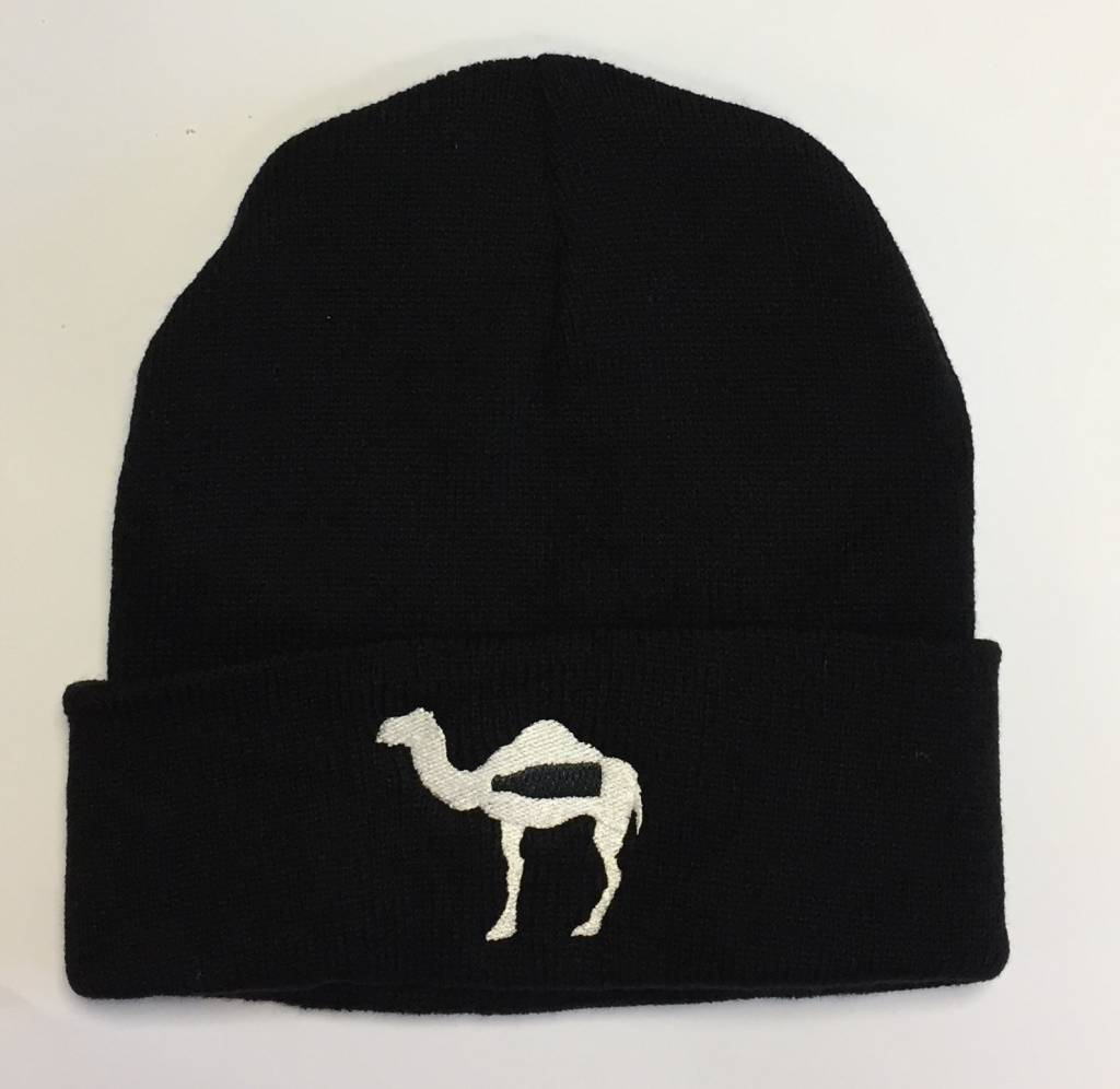 Knitted hat with logo of the Camel Dairy Farm Smits