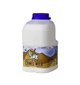 Dutch Oasis 42 flessen bevroren, rauwe  kamelenmelk (€4,40/fles)