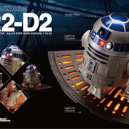 Beast Kingdom Star Wars The Empire Strikes Back: R2-D2 Egg Attack Statue