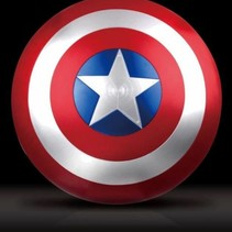 Captain America's Shield - Life Sized Red Version