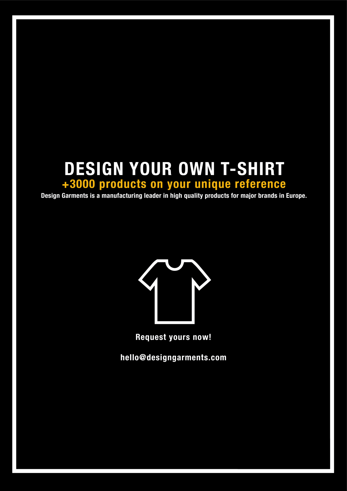Design your own t shirt europe - Create Your Own