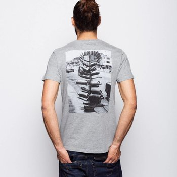 Johnny Dee ROCK PIPES T-SHIRT, BACK