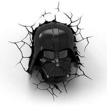 Darth Vader Head 3D Light