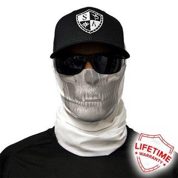 SA Co. Face Shield™ TACTICAL | WHITE SKULL
