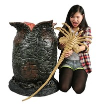NECA Aliens Foam Replica 1/1 Xenomorph Egg & Latex Facehugger 91 cm