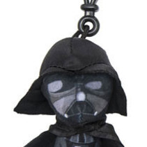 Star Wars Episode VII Plush Keychain Darth Vader 8 cm