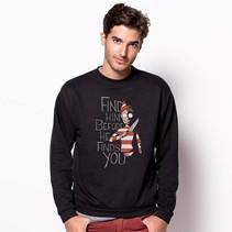 Sweater Hiding in the Dark