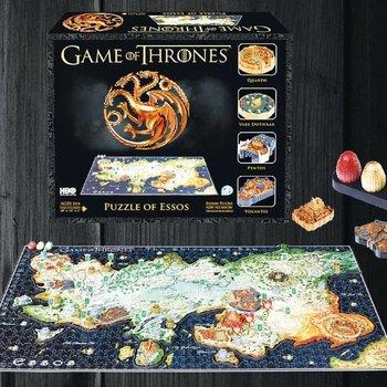 4D Cityscape Game of Thrones 3D Puzzle Essos (1350 pieces)