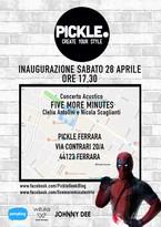 Inaugurazione Pickle Ferrara