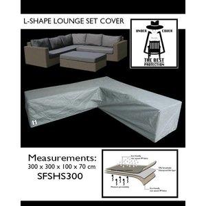 Under Cover Lounge hoekbankhoes, 300 x 300 x 100, H: 70 cm