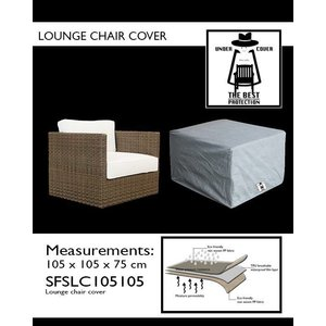 Under Cover Hoes loungestoel, 105 x 105 H: 75 cm.