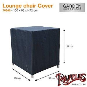 Beschermhoes loungestoel, 100 x 95 H: 72 cm