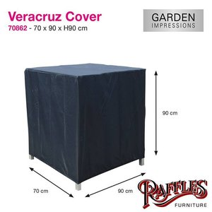 Garden Impressions Hoes voor loungestoel, 90 x 70 H: 90 cm