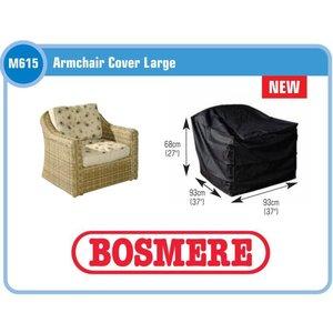 Bosmere  Loungestoelhoes, 93x93 H: 68 cm