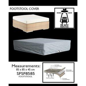 Under Cover Hoes voor hocker, 85 x 85 H: 45 cm