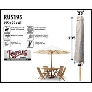 Raffles Covers Parasol beschermhoes, H: 195 cm
