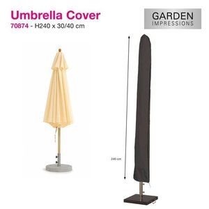 Hoes voor parasol, H: 240cm