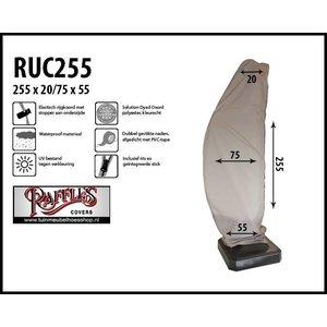Raffles Covers Hoes voor zweefparasol, H: 255 cm
