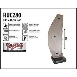 Raffles Covers Beschermhoes zweefparasol, H: 280 cm