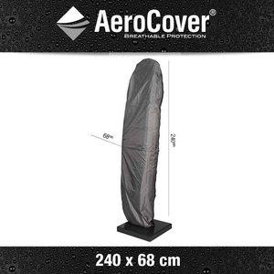 AeroCover Hoes zweefparasol, H: 240 cm