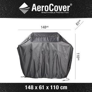 AeroCover BBQ beschermhoes, 148 x 61, H: 110 cm