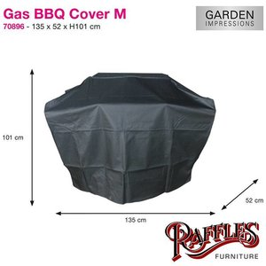 Garden Impressions Barbeque hoes, 135 x 52 H: 101 cm