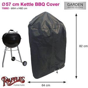 Ronde barbecue hoes, D: 57 cm & H: 83 cm
