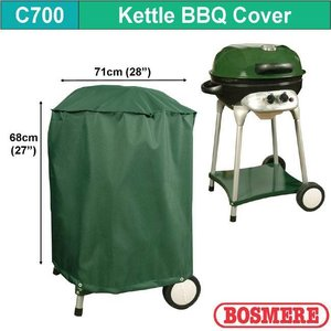 Hoes voor ketelbarbecue, D: 71 cm & H: 68 cm