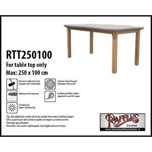 Hoes voor tafelblad, 250 x 100 cm