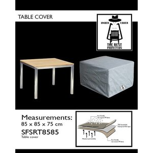Under Cover Hoes voor tuintafel, 85 x 85 H: 75 cm.