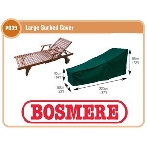 Bosmere  Hoes ligbed, 220x80 H: 55 cm