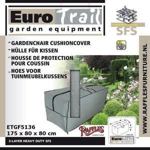 EuroTrail Tas voor loungekussens, 175 x 80 H: 80 cm