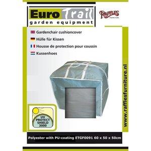 EuroTrail Tas voor loungekussens, 60 x 50 H: 50 cm