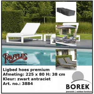 Borek Hoes voor ligbed,  225 x 80 H: 40 cm
