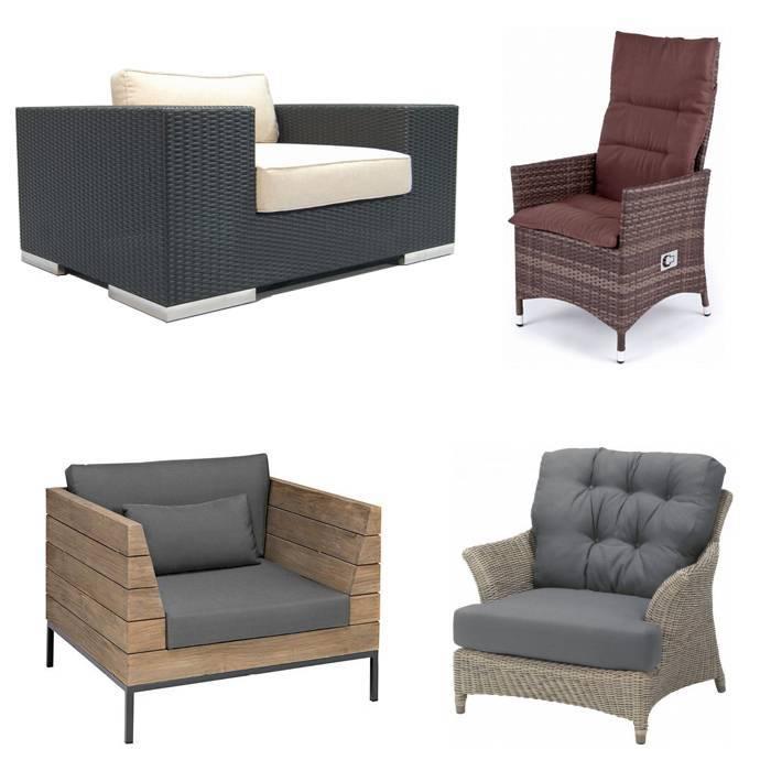 Hoes voor garden lounge chair kubus tuin stoel living for Stoel tuin