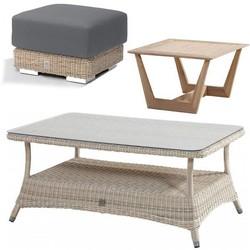 Table, footstool