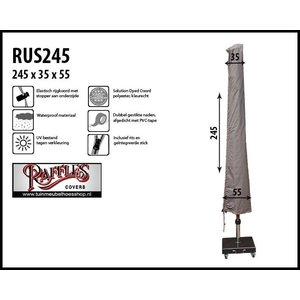 Hoes parasol, H: 245 cm
