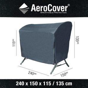 Hoes voor een schommelbank, 240 x 150 cm H: 135 / 115 cm