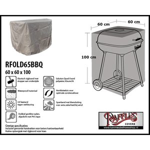 Raffles Covers Barbecue hoes,  60 x 60 H: 100cm, taupe