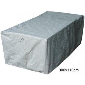 Hoes tuintafel XL, 300 x 110 H: 75 cm