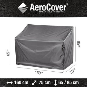 AeroCover Tuinbankhoes, 160 x 75 H: 85 / 65 cm