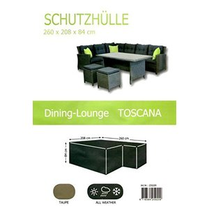 Loungeset hoes, 260 x 208 H:84