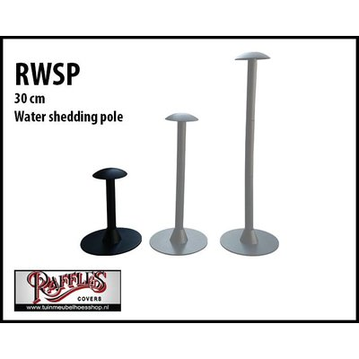 Water shedding pole 30 cm