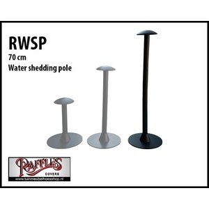Water shedding pole, H: 70 cm