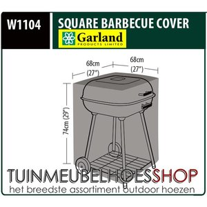 Barbeque hoes, 68 x 68 H: 74 cm