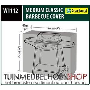 Beschermhoes barbecue, 124x61 H: 91 cm