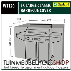 W1120, Barbecuehoes, 165x63 H: 90 cm